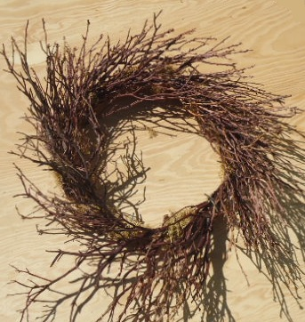 "MANZANITA WREATH 15""-18"""